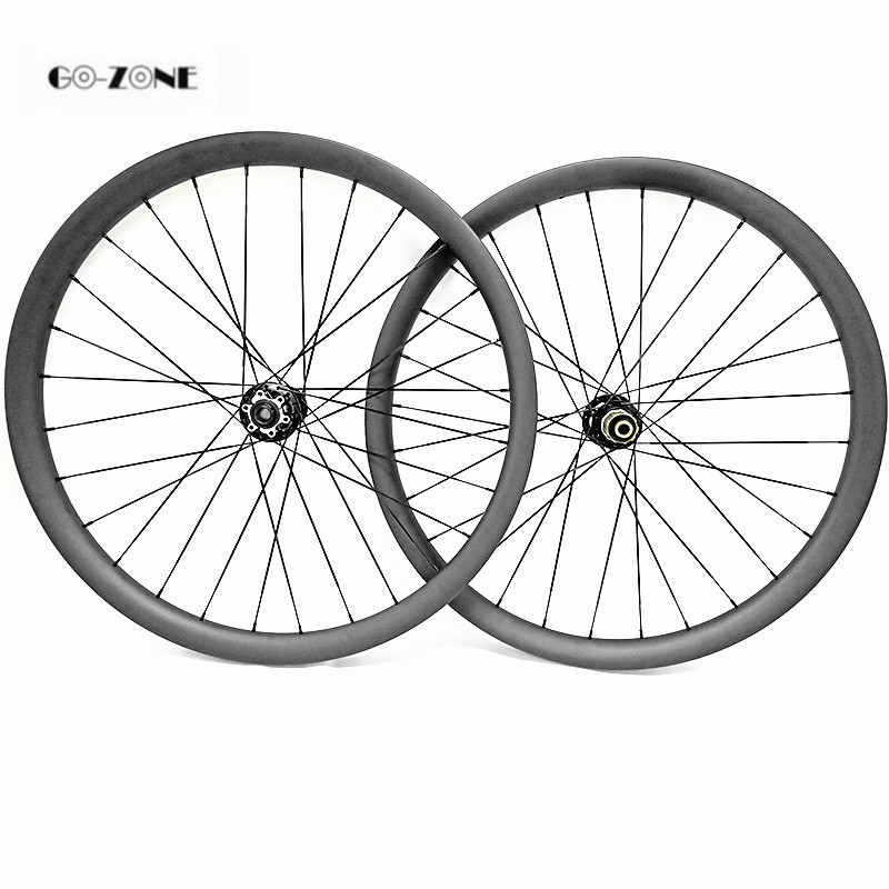 MTB disc bicycle hoop 29 asymmetric 45x 25mm tubeless mtb bike wheels novatec D791SB D792SB boost 110x15 148x12 carbon wheelset