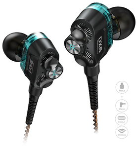 Image 1 - Plextone DX6プロ金属耳有線イヤホン3.5ミリメートルスポーツbluetoothヘッドセットマイクのゲーマーのpk razerハンマープロv2