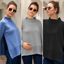 Pregnant-Clothes Maternity-Sweaters Winter Loose Long-Sleeve Round-Neck Women's T1001