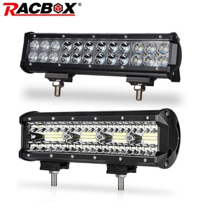 12 inch 72W 180W Offroad LED Light Bar Tri-row Double Row Work Light for 4x4 UAZ SUV ATV 4WD Truck Automobile 12 24V Combo Beam