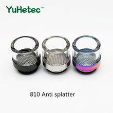 1 adet FATUBE 810 Anti sıçrama damla ile çift O halka Anti patlama yağ kayışlı filtre sigara tutucu