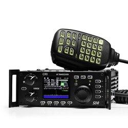 XIEGU G90 QRP КВ трансивер 20 Вт SSB CW AM FM Любительское радио 0,5-30 МГц SDR структура со встроенным Авто антенным тюнером GSOC