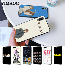Norwegian Tv Skam Fashion Silicone Case for iPhone 5 5S 6 6S Plus 7 8 11 Pro X XS Max XR