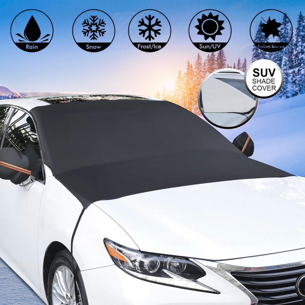 Car Windshield Cover Sun Shade Winter Snow Ice Rain Dust Frost Guard Protector