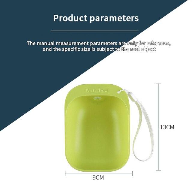 Portable Pet Drinking Bowl  6