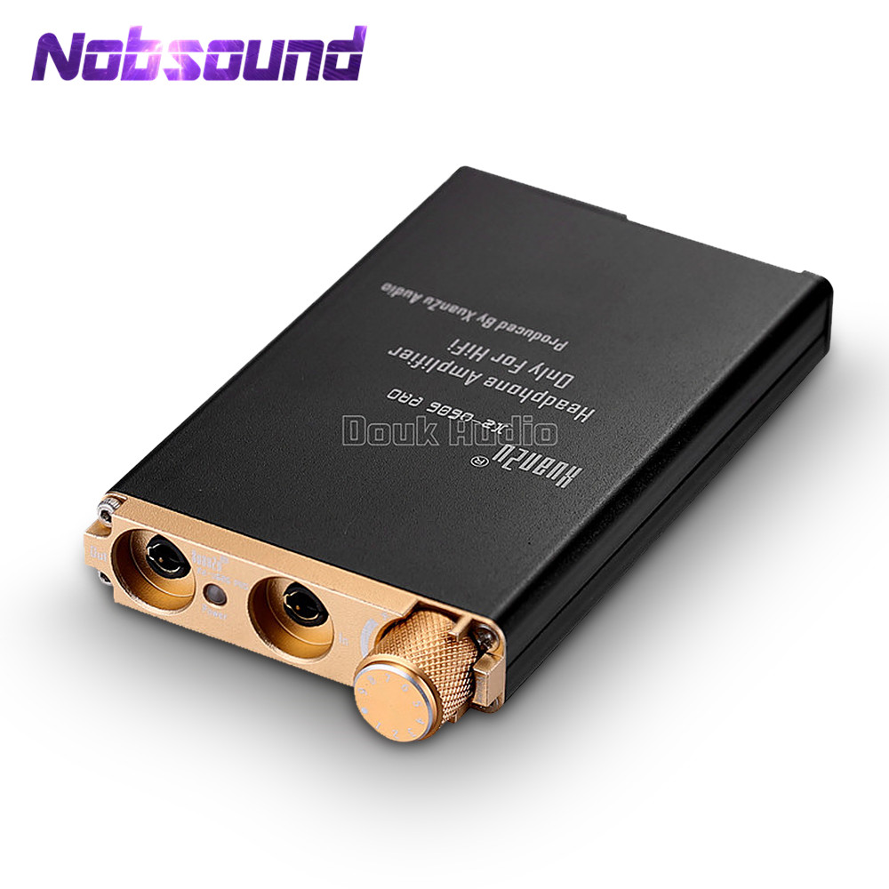 Nobsound Hi-end  HiFi Amplifier Mini Compact Portable Stereo Headphone Amp For Phone Audio Player