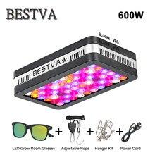 BestVA led coltiva la luce a spettro completo Elite 600W lampada per le piante indoor grow led crescere tenda serra idroponica Rosso/Blu/UV/IR