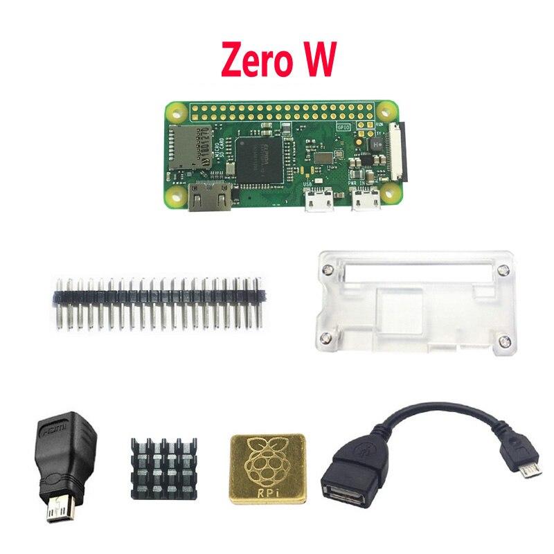 Raspberry Pi Zero W WH Pi0 zero case heat sink OTG HDMI
