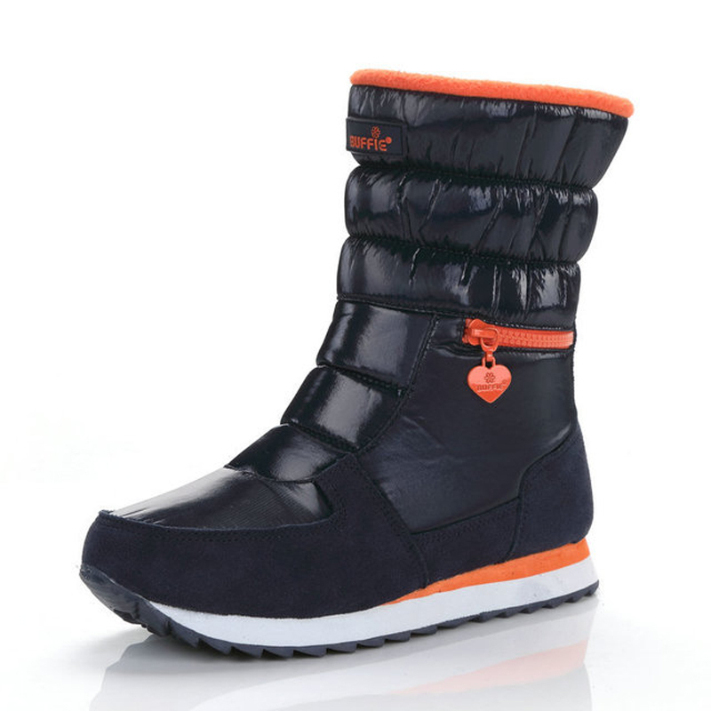 2020 New Women Snow Boots Waterproof Slip-resistant Warm Thicken Fur Winter Shoes Women Winter Boots For -40 Degrees