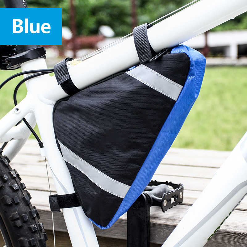 Waterproof Triangle MTB Cycling Sports Bicycle Bike Front Frame Pouch Saddle Bag