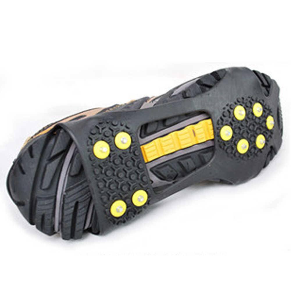 magic spike shoes anti slip Ice Gripper with crampon walk on ice snow for mountaineering climbing in winter
