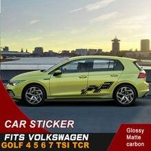 Автомобильные наклейки подходят для volkswagen golf 4 5 6 7