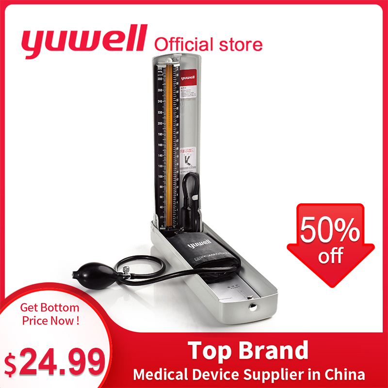 Yuwell Sphygmomanometer Professional Arm Medical Equipment Blood Pressure Monitor Stethoscope Home Health Care Tool