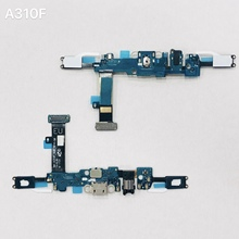 цена на USB Charging Charger Dock Port Board Flex Cable For Samsung A5 2015/2016 A510F A500F A3 A300F A310F A7 A700F A710F