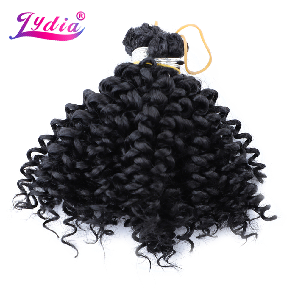 Lydia Hair Extension No Weft Crochet Hair 6