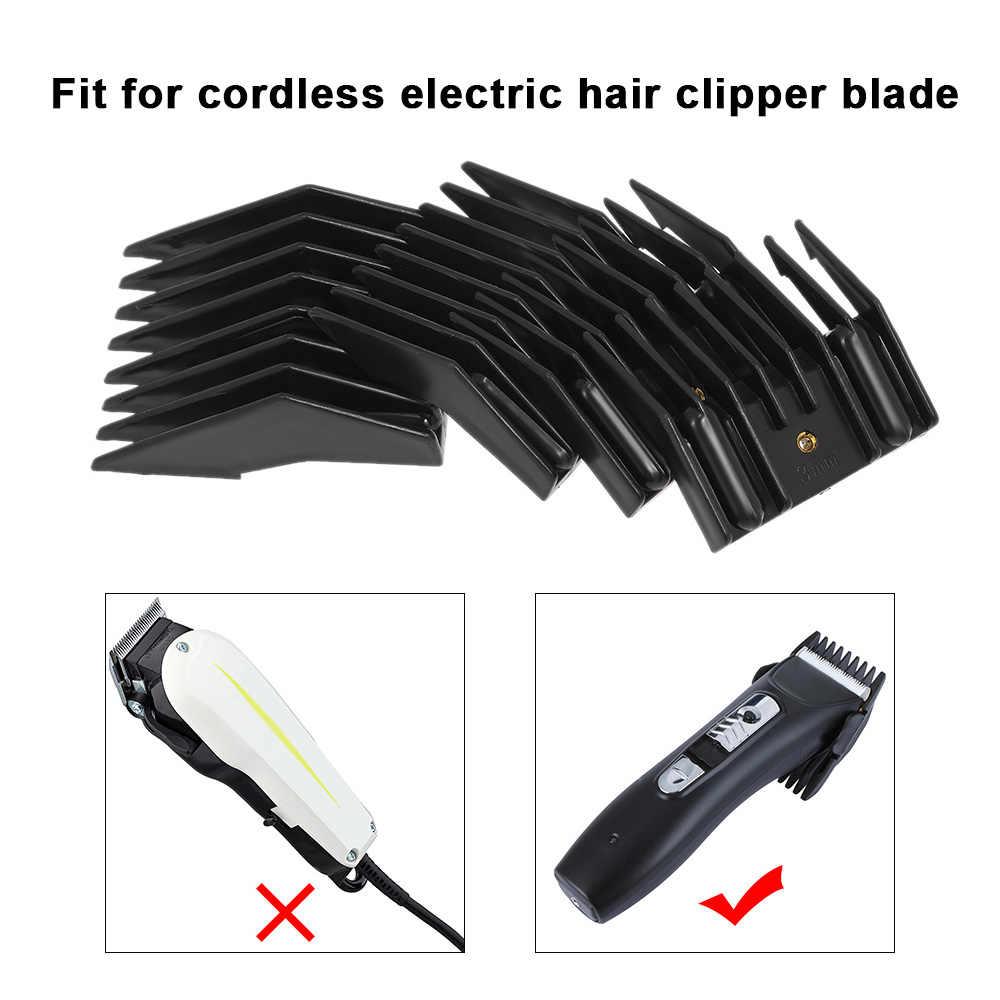 4 サイズ制限櫛バリカンガイドのためのコードレス電気バリカンシェーバーサロン散髪ツール
