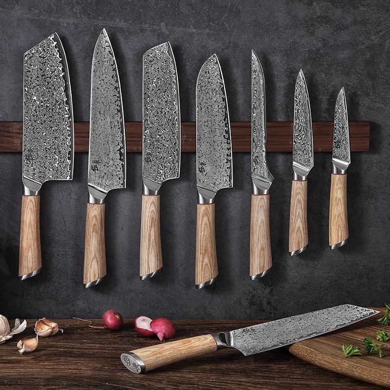 Premium 67 Layer Steel V Gold 10 Damascus Knife