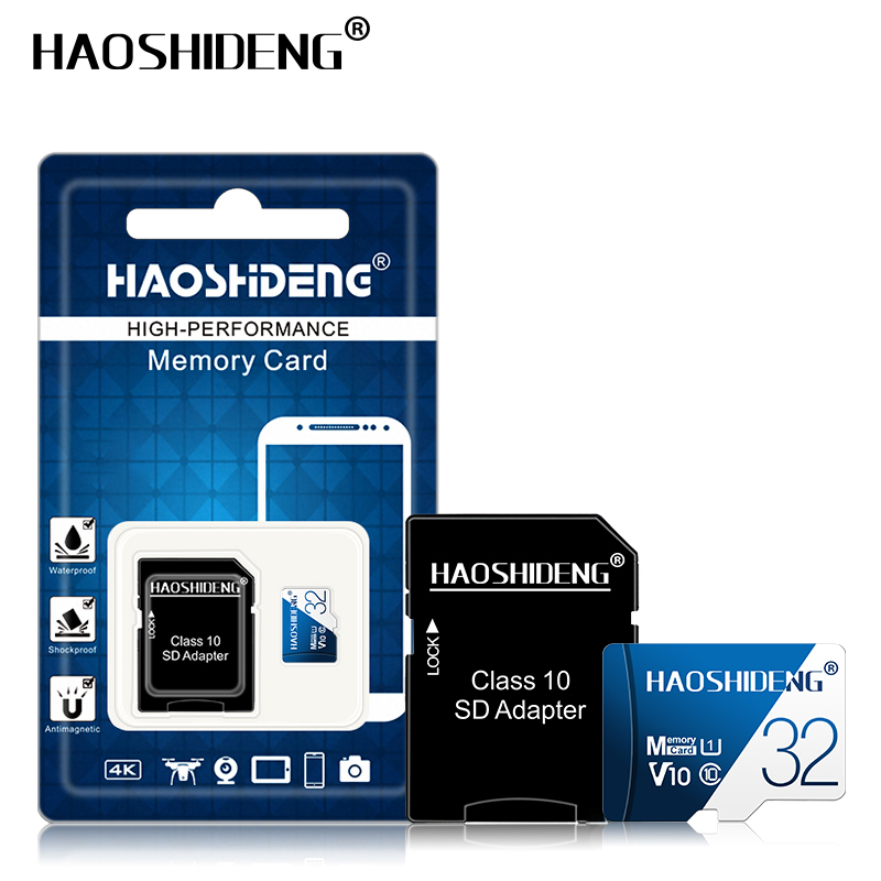 Image 3 - High quality micro sd card 32gb 64gb 128gb Class 10 cartao de memoria 8GB 16GB micro drive mini Memory card TF card flash map-in Micro SD Cards from Computer & Office