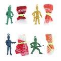 2 шт. дети рука бросать парашют игрушки для детей детские развивающие игрушки парашют с рисунком солдата для активного отдыха спортивные иг...