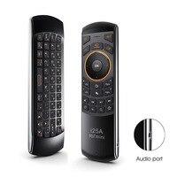 Rii Mini I25A Multifunktions Tragbare 2,4G Wireless Fly Maus Russische Englisch Tastatur I25 Remote Für Android TV Fernbedienung TV BOX
