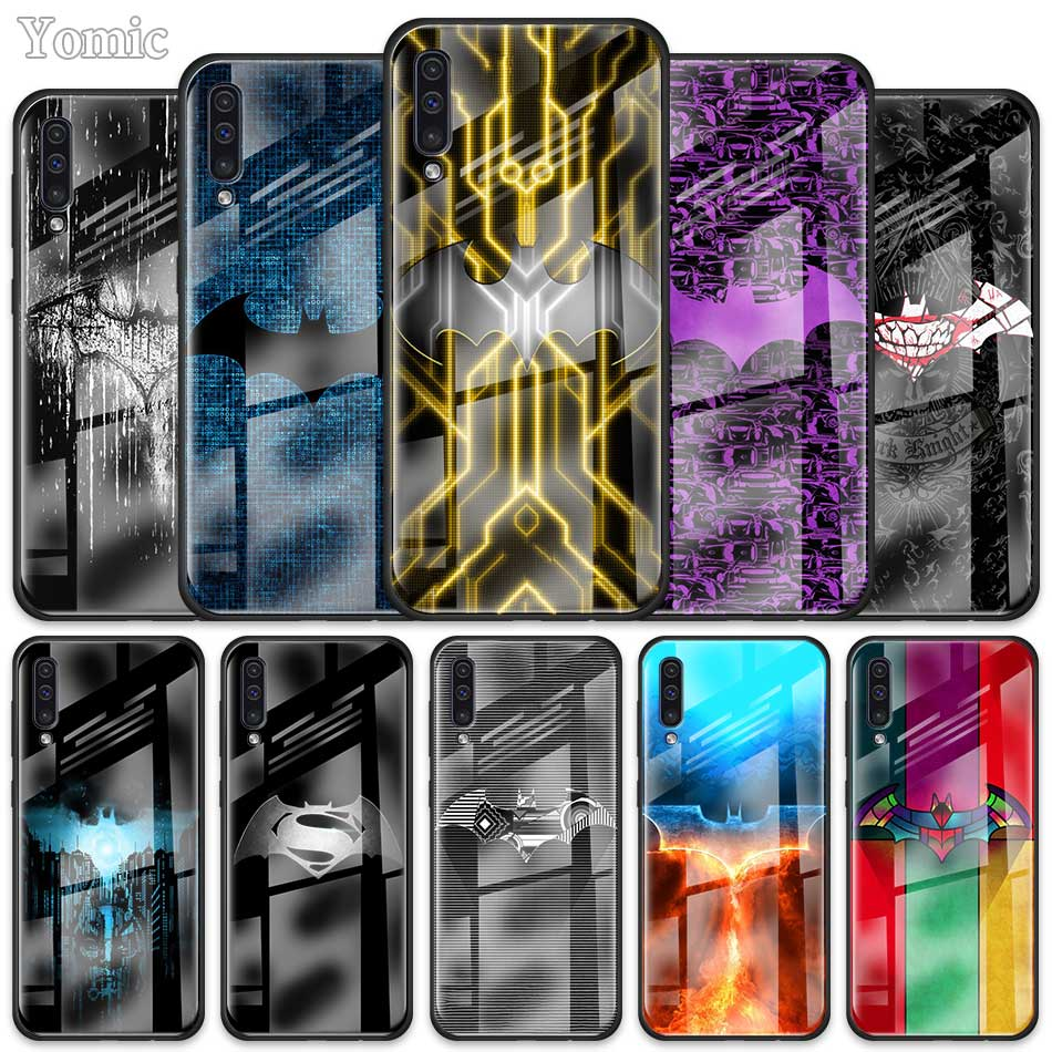 Cool <font><b>Marvel</b></font> Batman <font><b>Logo</b></font> <font><b>Case</b></font> for <font><b>Samsung</b></font> <font><b>Galaxy</b></font> A50 A51 A70 A71 A01 A10 A11 A20 A21 <font><b>A30</b></font> A31 A40 A41 A81 M21 M31 M51 Glass Cover image