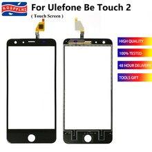 100% testado bem para ulefone ser toque 2 tela de toque digitador vidro painel sensor ulefone touch2 painel sensível ao toque