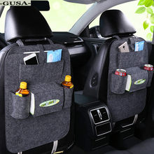FORAUTO Car Organizer Drink Holder Stowing Tidying Storage Box For Phone Pad Card Coin Case Car-styling Auto Gap Pocket(China)