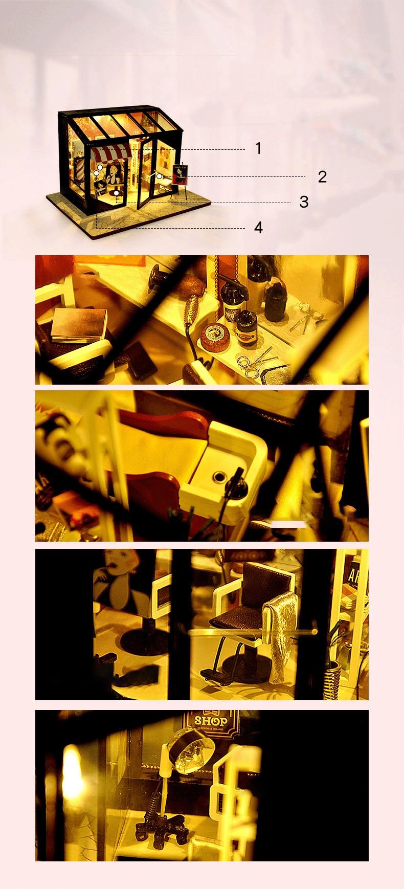 H81ef105328e6470a80a99bc6d4f1de02l - Robotime - DIY Models, DIY Miniature Houses, 3d Wooden Puzzle