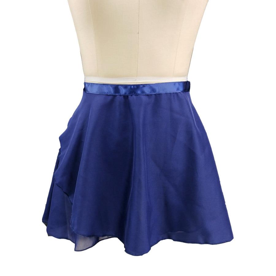 Navy blue Ballet Leotards Girls Ballet Tutu blue pink gray green rose red Chiffon Dance Skirt Child Dance Practice Dress Ballet in Ballet from Novelty Special Use