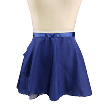 Navy blue Ballet Leotards Girls Tutu pink gray green rose red Chiffon Dance Skirt Child Practice Dress