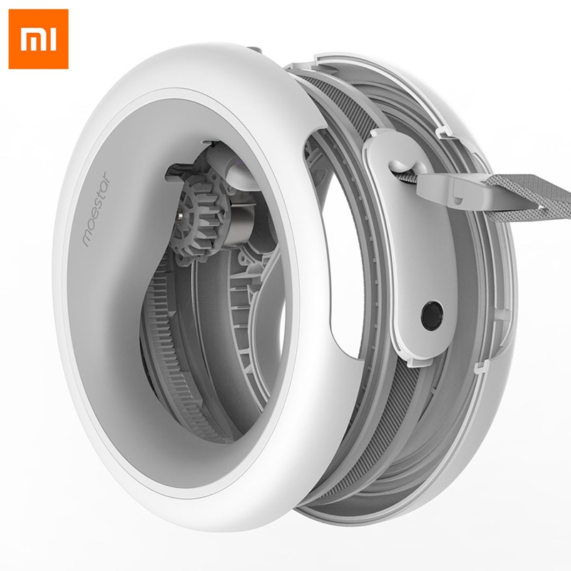 Xiaomi MOESTAR Flexible Led Lighting Pet Collar Retractable Dog Leash Ring Smart Remote Control DOG Traction Belt Rope 2.6M