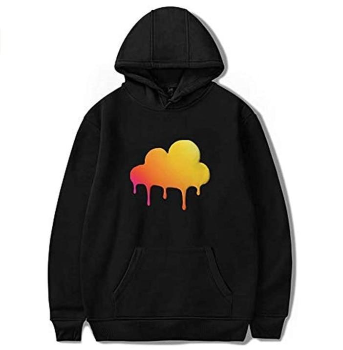 2020 Dixie D'Amelio Hoodie Sweatshirts Men/Women Clouded BE Happy Merch Hoodies Unisex Tracksuit Streetwear 3