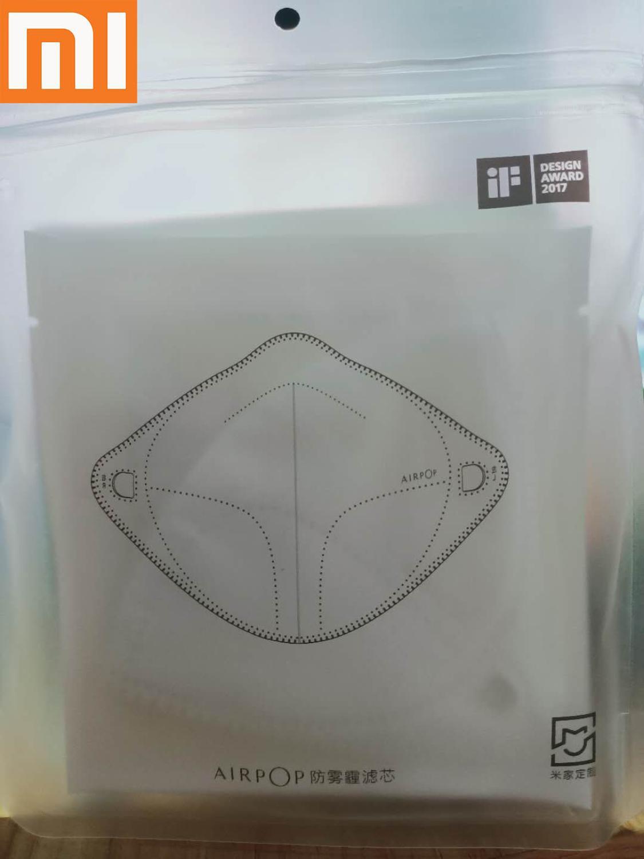 Xiaomi  Filter For AirWear Face Mask Anti-Haze And Anti-Fog Mask Mijia AirPoP Face Mask