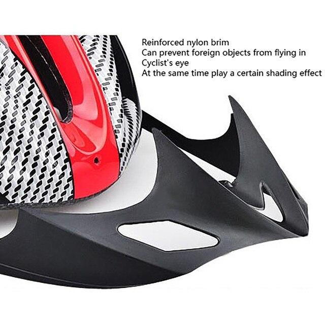 2020 capacete de ciclismo de bicicleta ultraleve eps + pc capa mtb estrada capacete integralmente-mold ciclismo capacete ciclismo com segurança boné #725 5