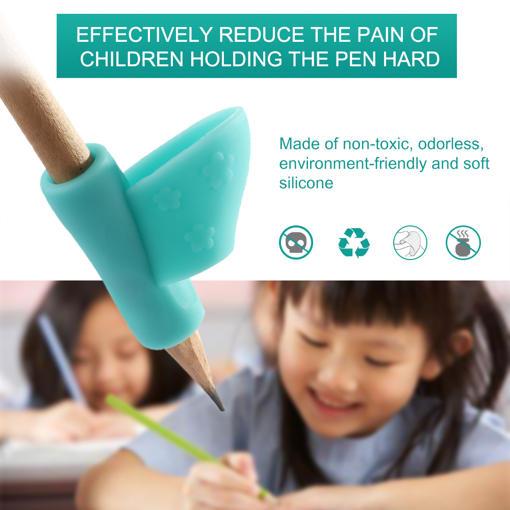Цвет случайный 3 карандаша ручка правая рука помогает детям учится держать ручку и коррекция осанки при письме Магия подходит карандаш мягкий
