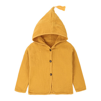 Chaqueta informal para bebé de 9M-5T, abrigos con capucha para recién nacido,...