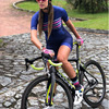 2020 pro team triathlon bike wear manga curta collant ciclismo wear 9d gel feminino terno de uma peça 2