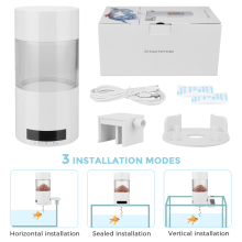 Digital Automatic Fish Feeder Electrical 500ml Tank Timer Home Aquarium Food Feeding Portable Tools