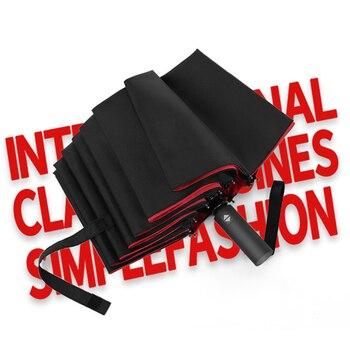 Paraguas de negocios agrandados para hombre y mujer, sombrilla automática completa, 12...