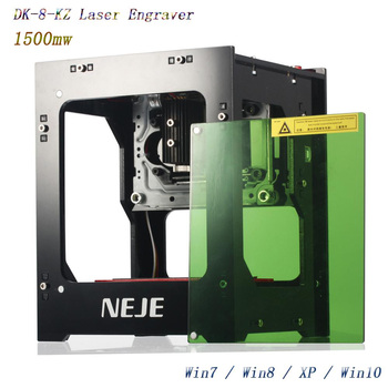 Neje 2019 뜨거운 판매 새로운 1500mw 405nm ai 레이저 조각사 나무 라우터 diy 데스크탑 레이저 커터 프린터 조각사 절단기