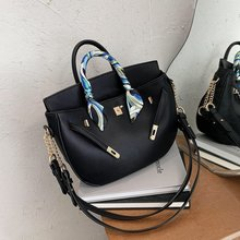Women's Bags Messenger-Bag Large-Capacity-Bags Fashion Handbag Shoulder Net Trendy Red