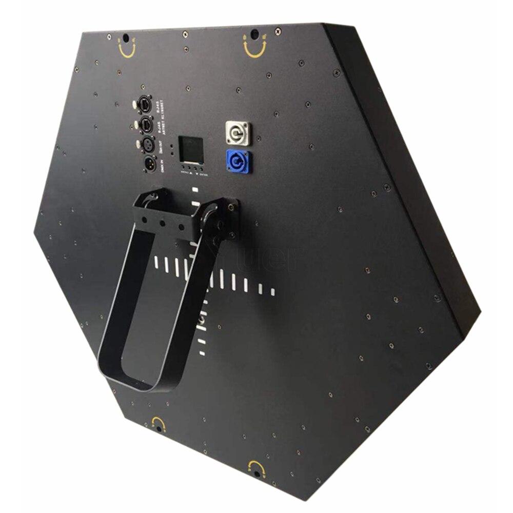 2 шт./лот современный Декор лампы 200 Вт светодиодный вентилятор эффект света светодиодный подвесной настенный светильник Бар KTV DJ диско микро освещение поворотной сцены - 5