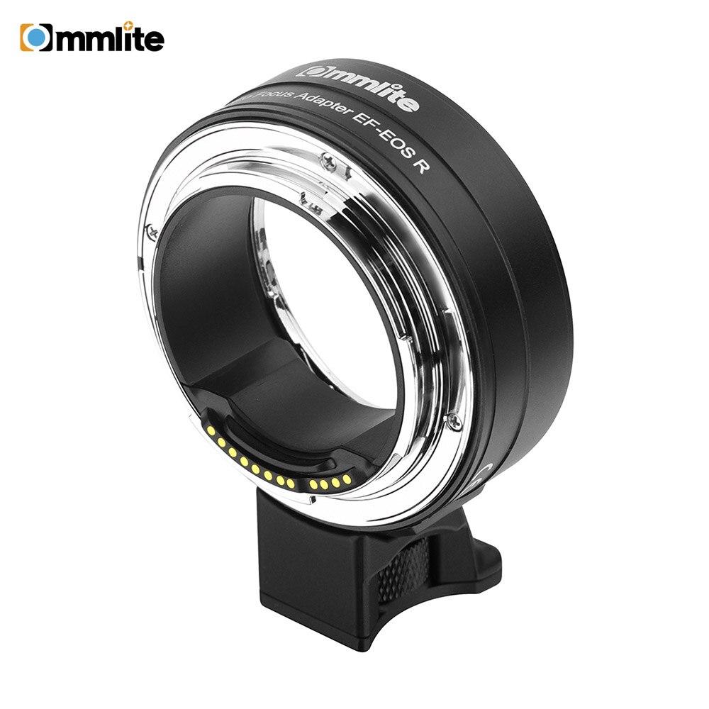 Commlite CM-EF-EOS R adaptateur de montage d'objectif adaptateur de montage automatique électronique pour Canon EOS R appareil photo plein cadre à montage RF