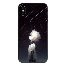 Hunter X Hunter Kurapika Killua Zoldyck Phone Case Cover For Apple iPhone 4 4S 5 5S SE 6 6S 7 8 Plus (11 Types)