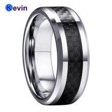 Мужское женское вольфрамовое Карбидное кольцо обручальное с