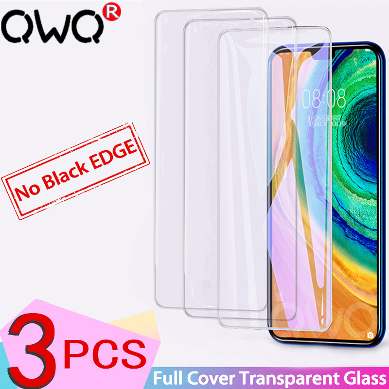 1-3Pcs Clear Tempered Glass For Huawei P30 P20 Mate 20 10 Lite Pro Screen Protector For P10 Lite P Smart 2019 HD Full Cover Film