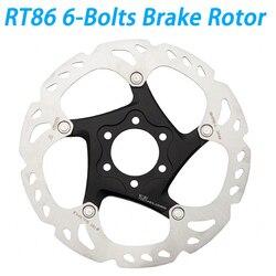 SM RT86 6/7 Cal 160mm 180mm 203mm hamulec tarczowy 6-śruby Rotor akcesoria części rowerowe SM-RT86