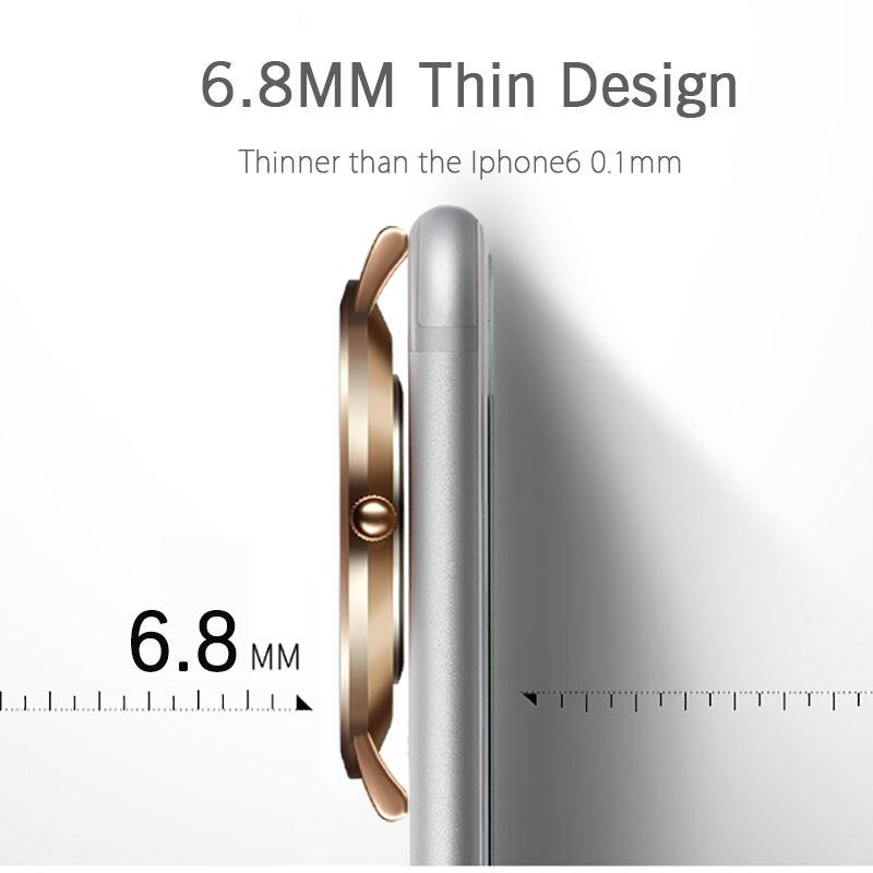 Image 3 - Geekthink Топ Элитный бренд кварцевые часы мужчины Повседневное Япония кварц часы из нержавеющей стали с сетчатым ремешком ультра тонкий часы мужской новыйmale malemale clockmale strap -