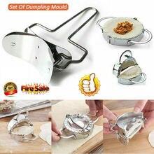 Stainless Steel Dumpling Mould Meat Pie Press Dough Pasty Maker Mold Kitchen Tool Set стоимость