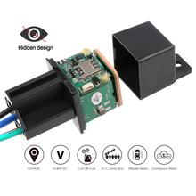 Relay Style Car Vehicle GPS Locator GSM Real-time Shock Alarm Tracking Device Automobile El